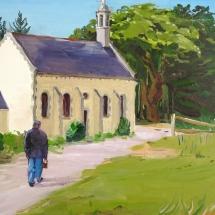Chapelle à Guidel 46 x 33