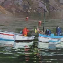 Pêcheurs de Doëlan 55 x 38